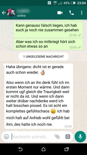 Flirten via whatsapp tipps