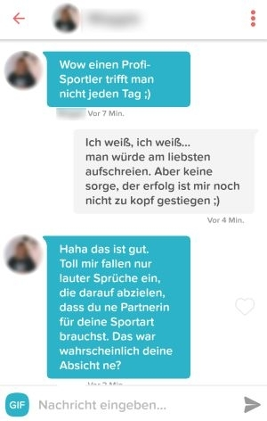 Online-Dating-Sätze
