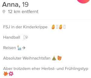 Profiltext für dating seiten