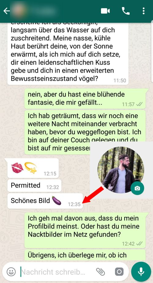 Tipps zum flirten auf whatsapp